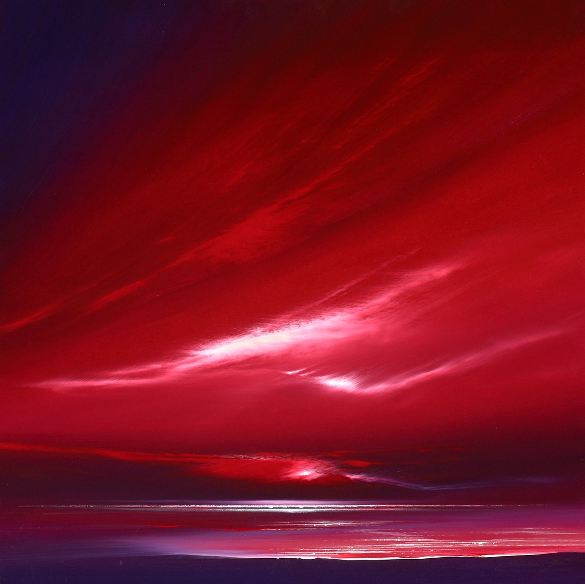 Deep Ruby Skies